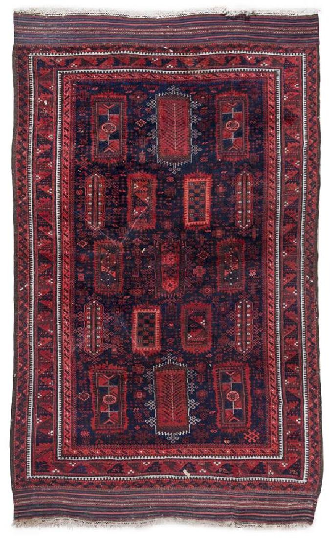 A Northwest Persian Wool Rug 9 feet 3 inches x 5 feet