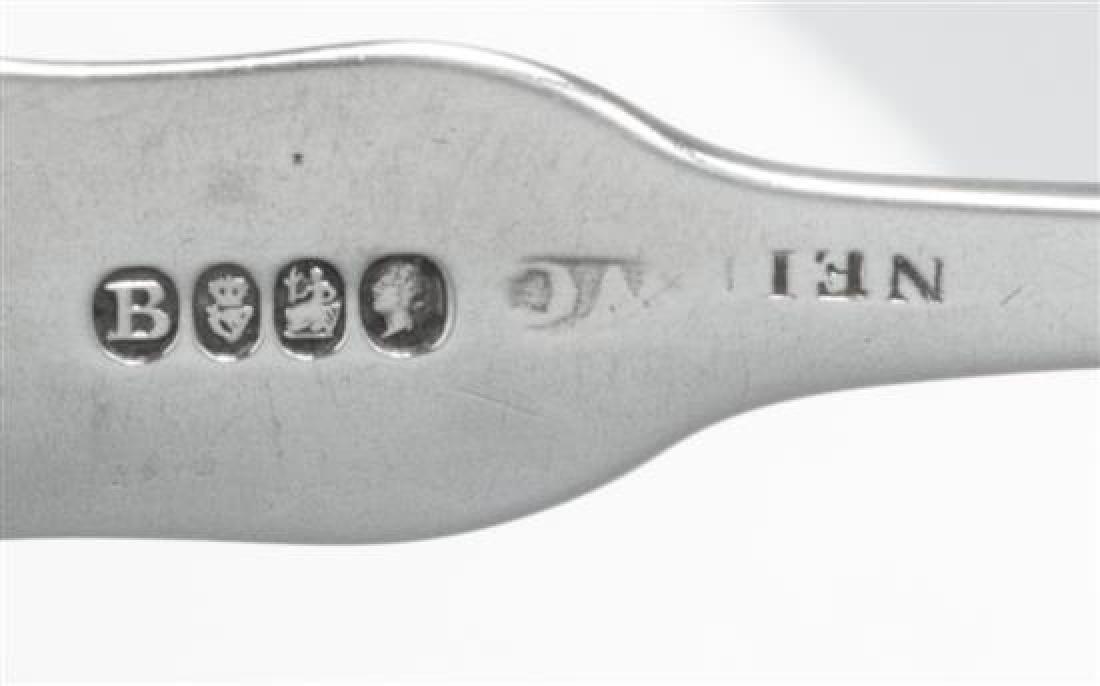 A Set of Six Irish George IV Silver Teaspoons - 2