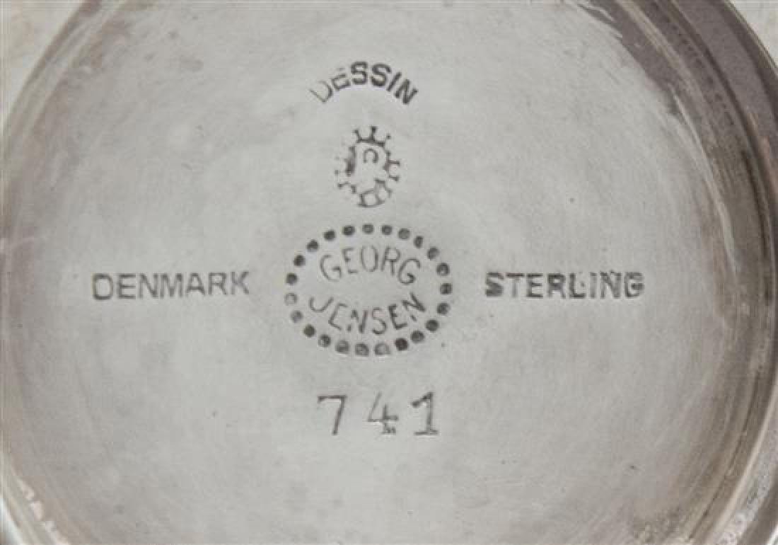 A Danish Silver Muffineer - 2