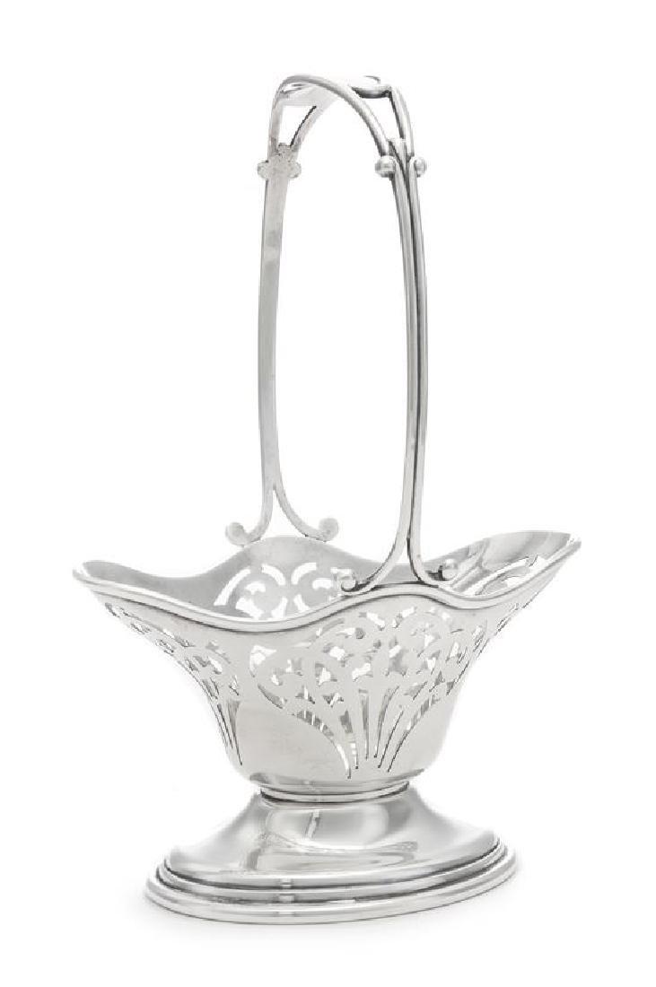 An American Silver Basket