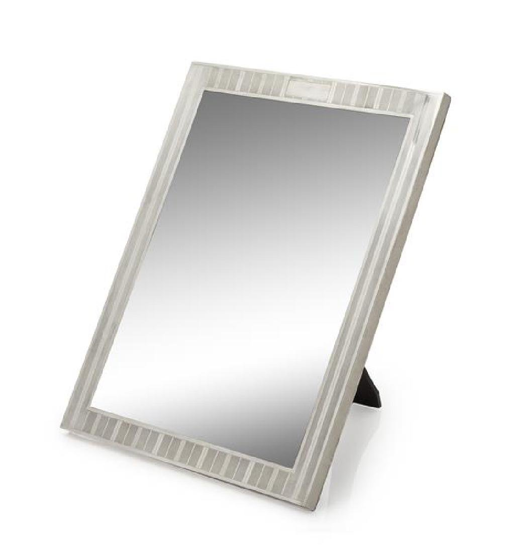 An American Silver Picture Frame