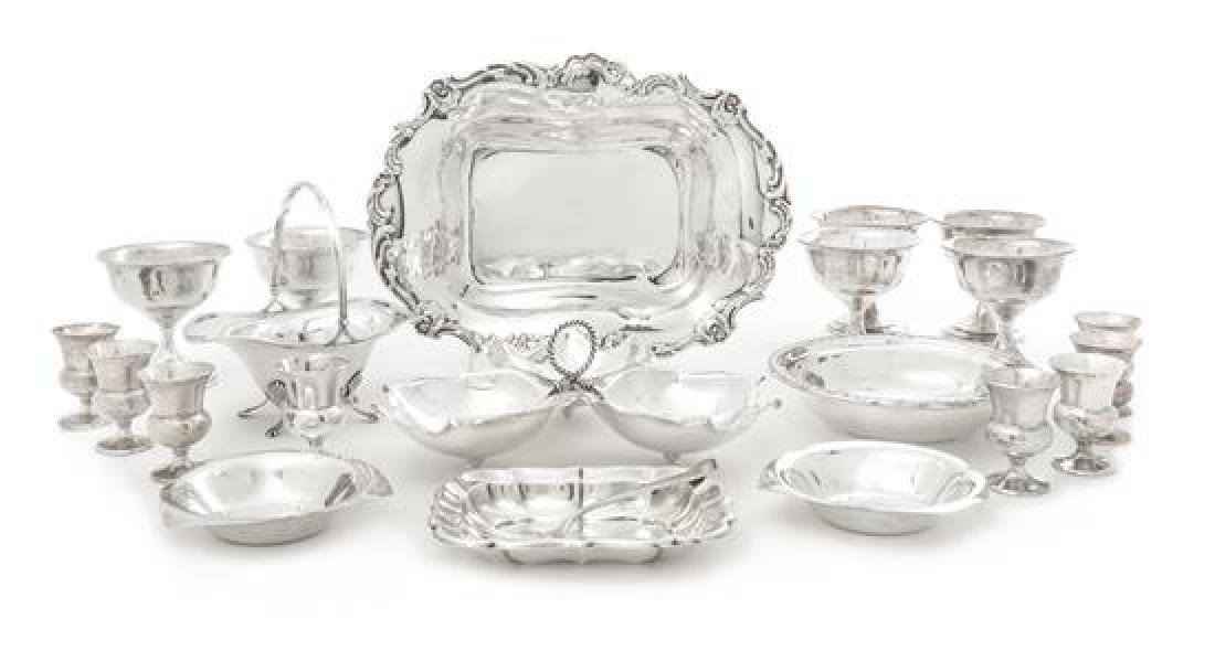 Collection of American Silver Table Articles