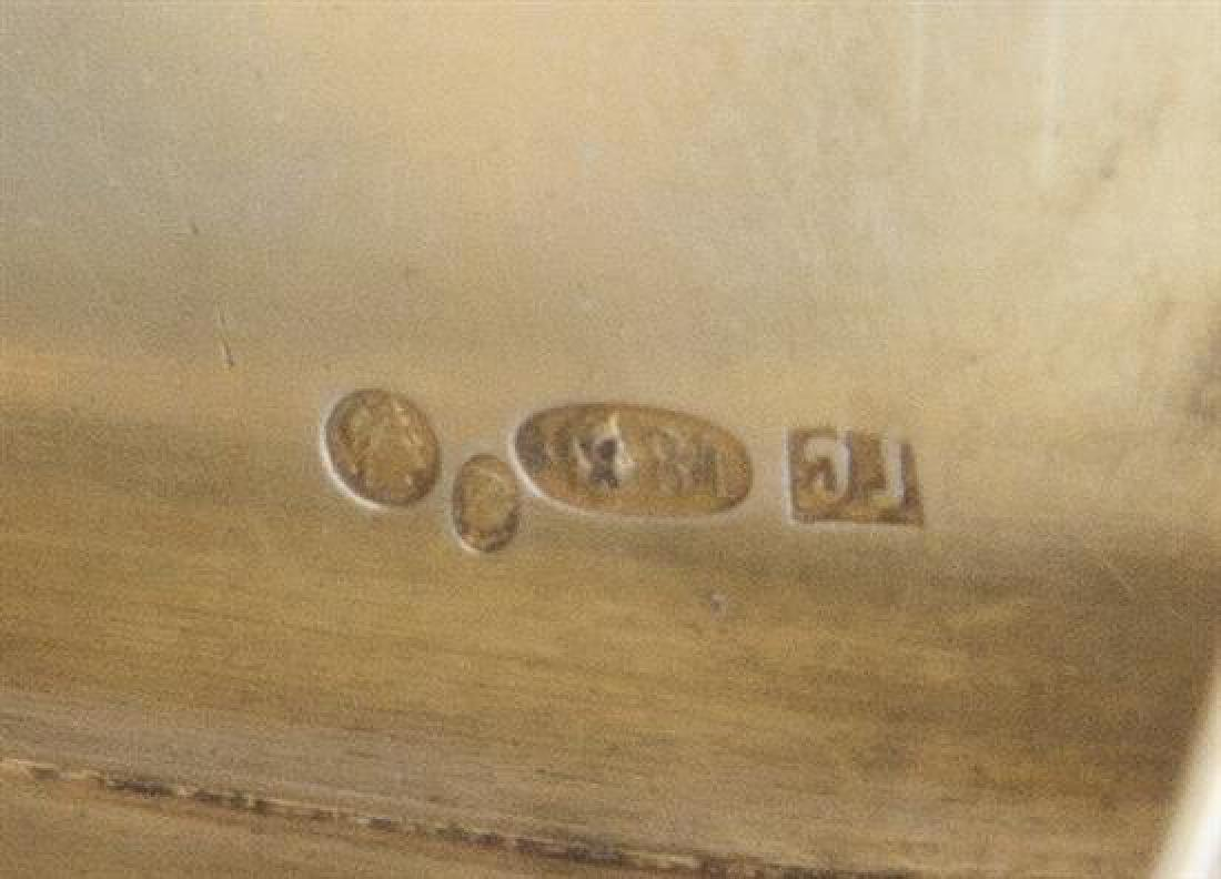 A Russian Enameled Silver Snuff Box - 2