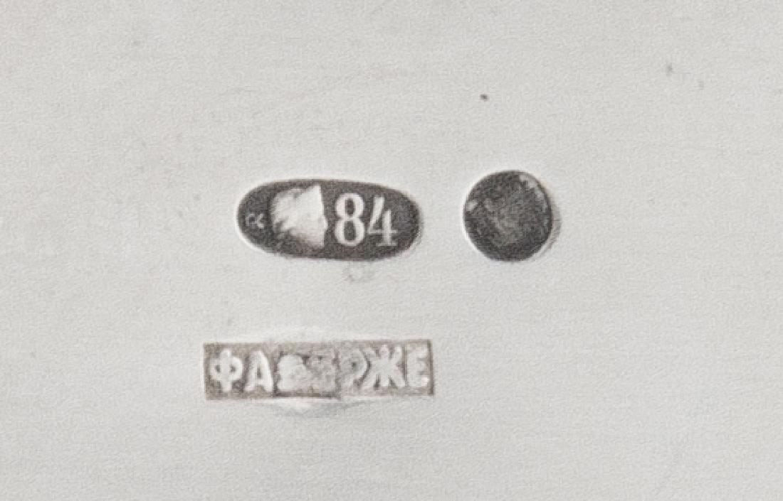 A Russian Silver Kovsh - 2