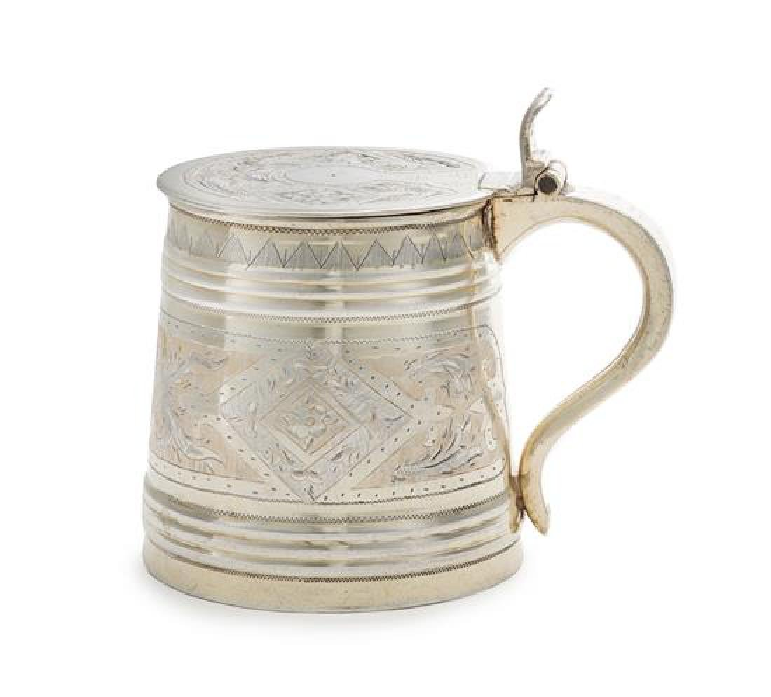A Russian Silver Child's Tankard