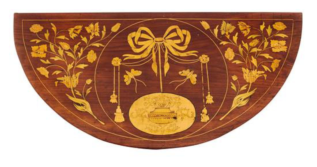 A George III Marquetry Flip-Top Table - 2