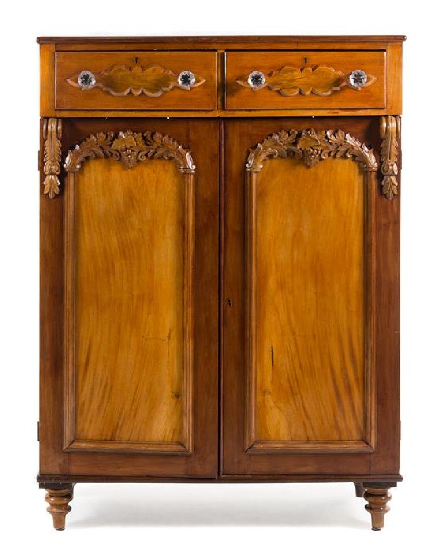 A Cape Victorian Stinkwood Cabinet