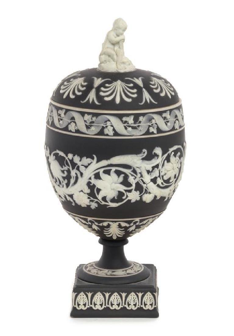A Wedgwood Jasperware Urn