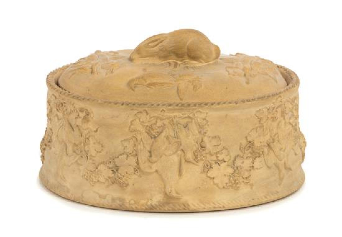 A Wedgwood Caneware Tureen