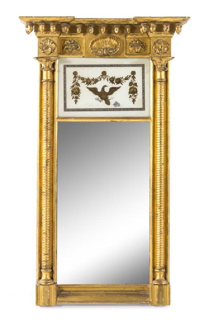 A Federal Giltwood Mirror