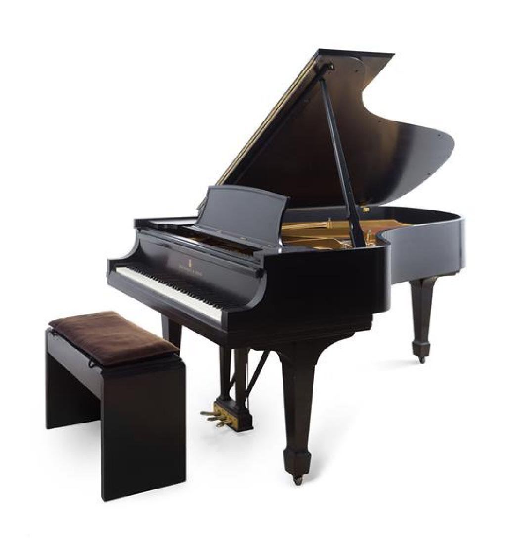 A Steinway & Sons Grand Piano