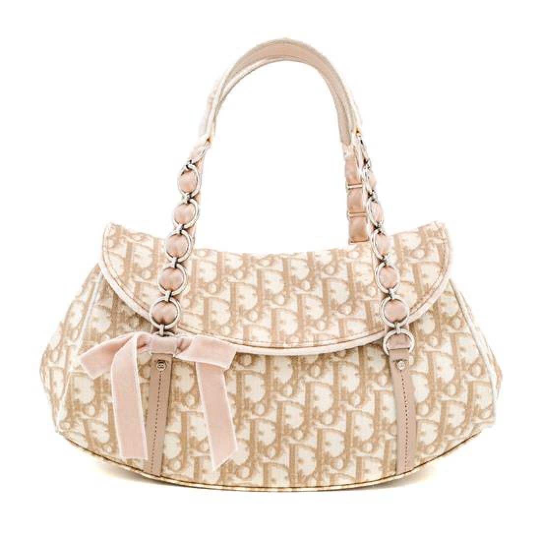 A Christian Dior Monogram Romantique Trotter Bag,