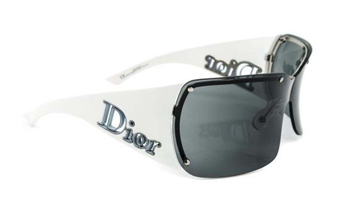 A Pair of Christian Dior Rimless Sunglasses,