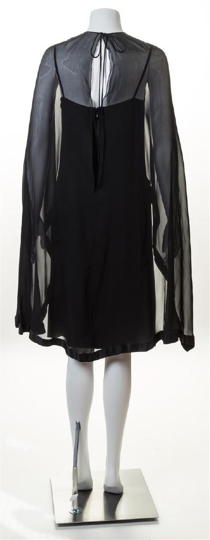 A Bill Blass Black Silk Cocktail Dress, - 2