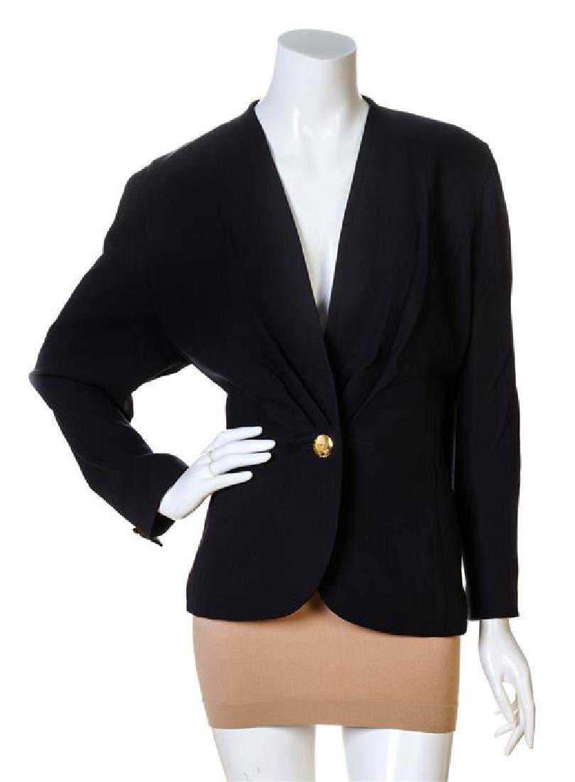 A Carven Navy Wool Jacket,