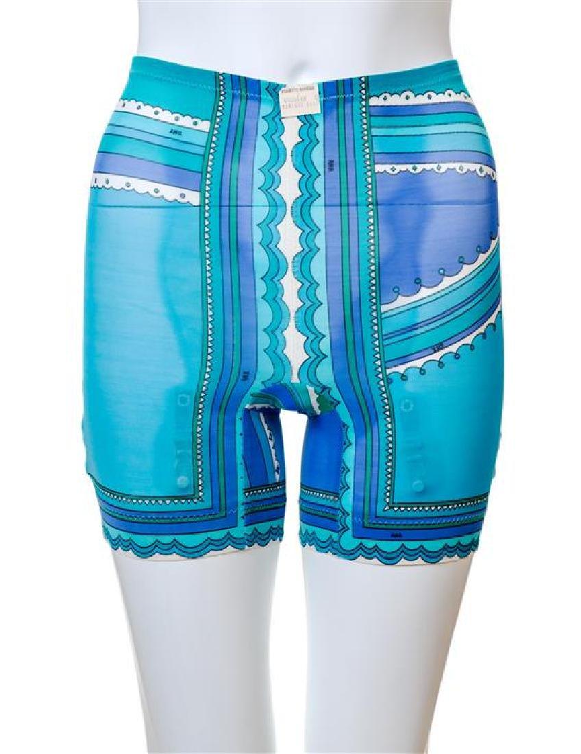 A Pair of Emilio Pucci Multicolor Hotpants,
