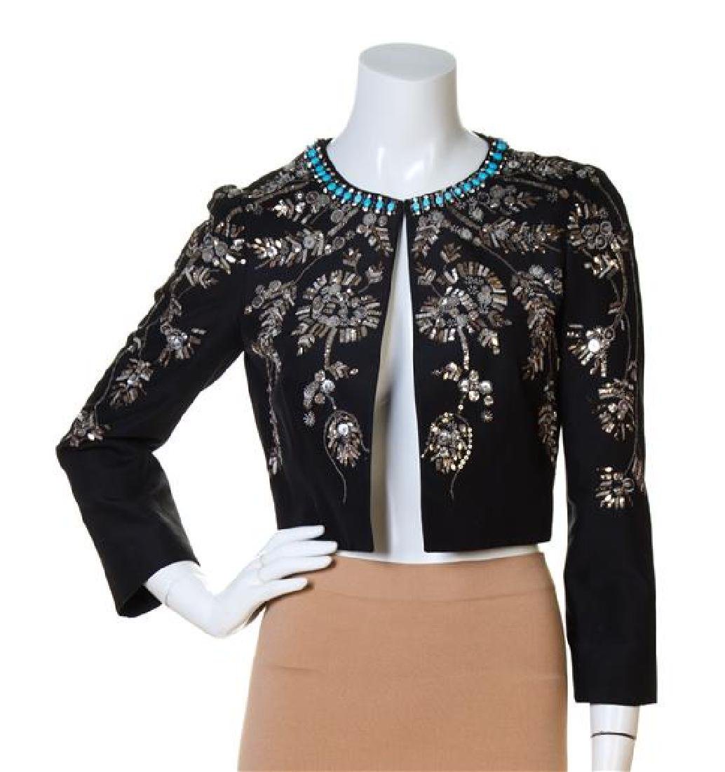 An Emilio Pucci Black Bolero Jacket,