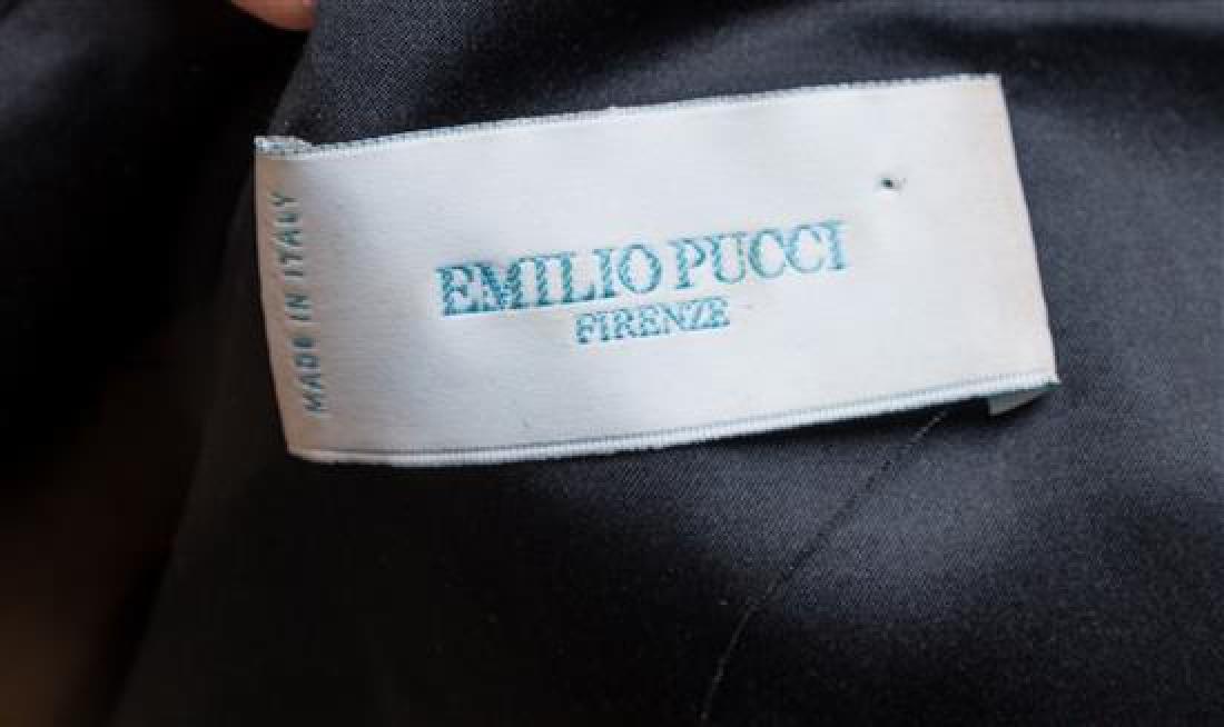 An Emilio Pucci Black Bolero Jacket, - 2