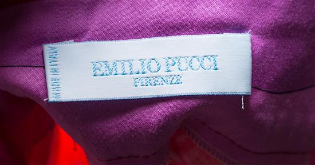 An Emilio Pucci Multicolor Cotton Dress, - 2