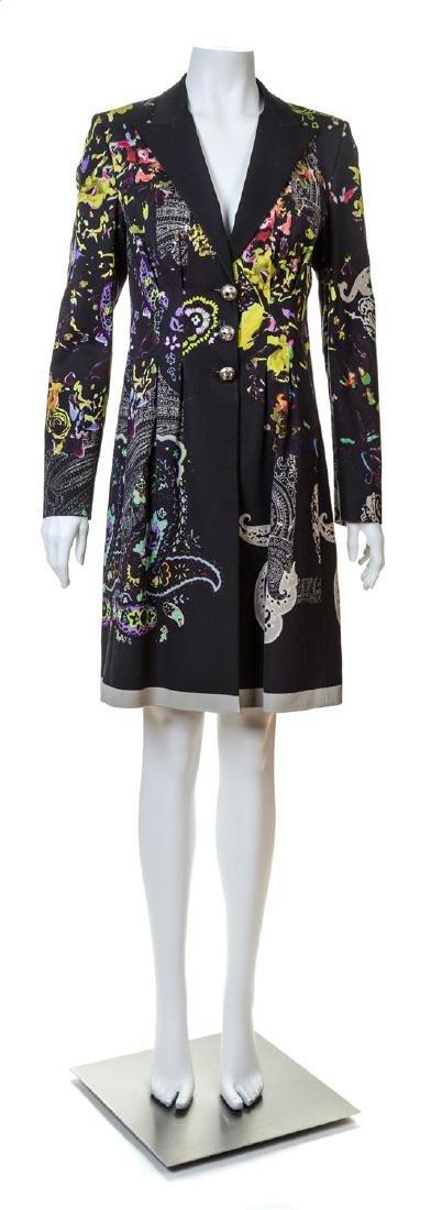 An Etro Multicolor Coat,