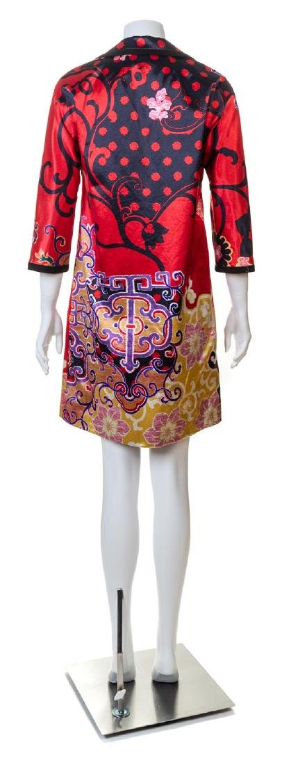 An Etro Multicolor Pattern Coat, - 2