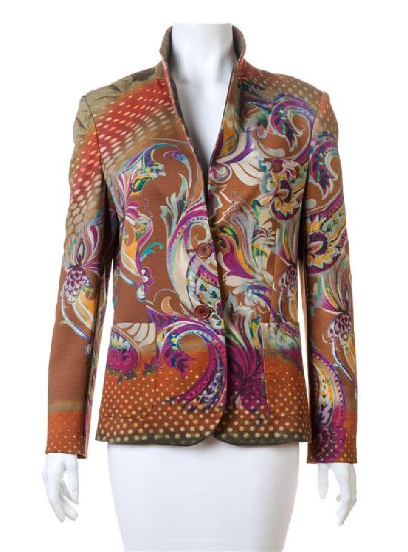 An Etro Multicolor Jacket,