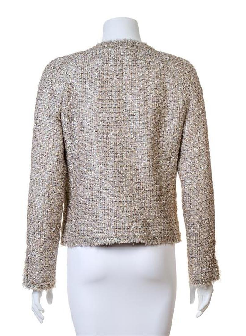 A Chanel Multicolor Boucle Shimmer Jacket, - 2