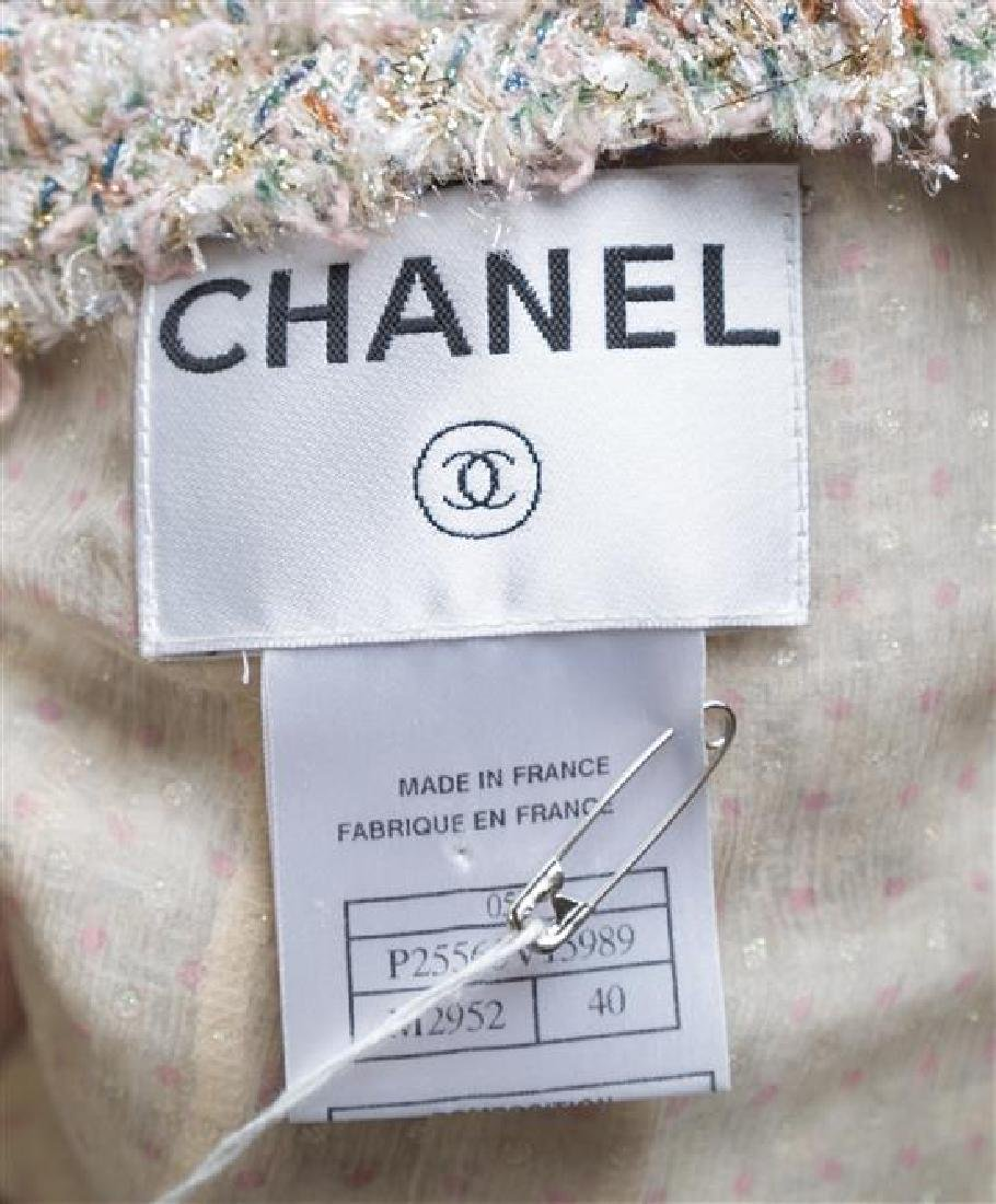 A Chanel Multicolor Boucle Shimmer Jacket, - 3