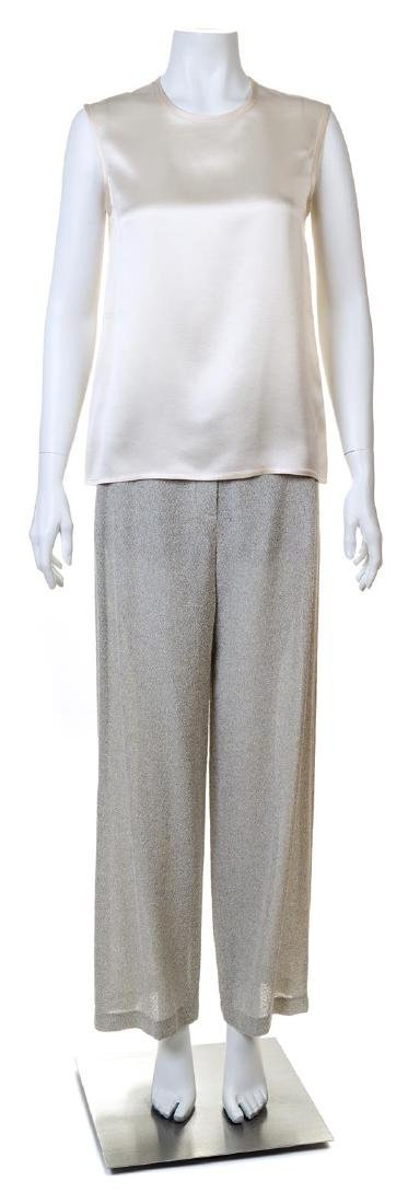 A Chanel Pant and Blouse Set,