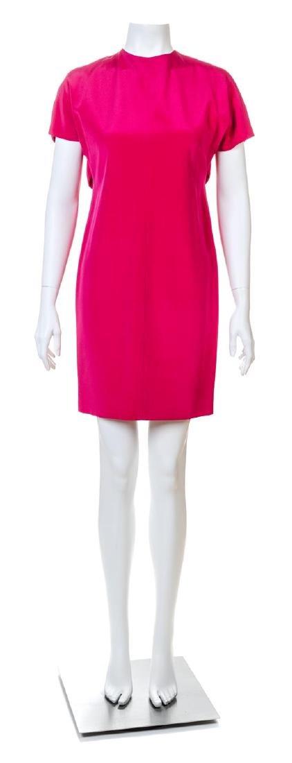 A Gianfranco Ferre Pink Silk Dress,