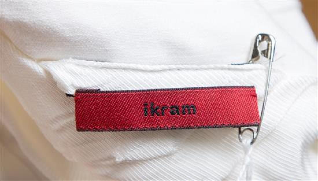 A Maison Margiela White Cotton Textured Jacket, - 2