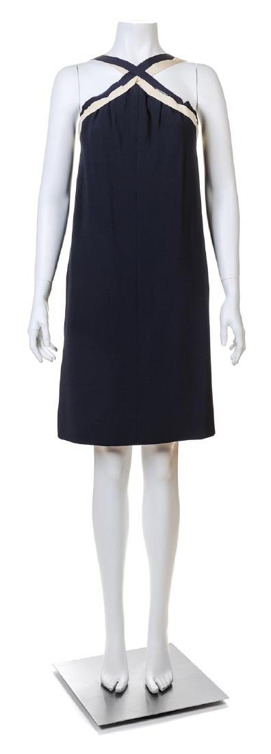 A Guy Laroche 1960s Navy Wool Haute Couture Sailor