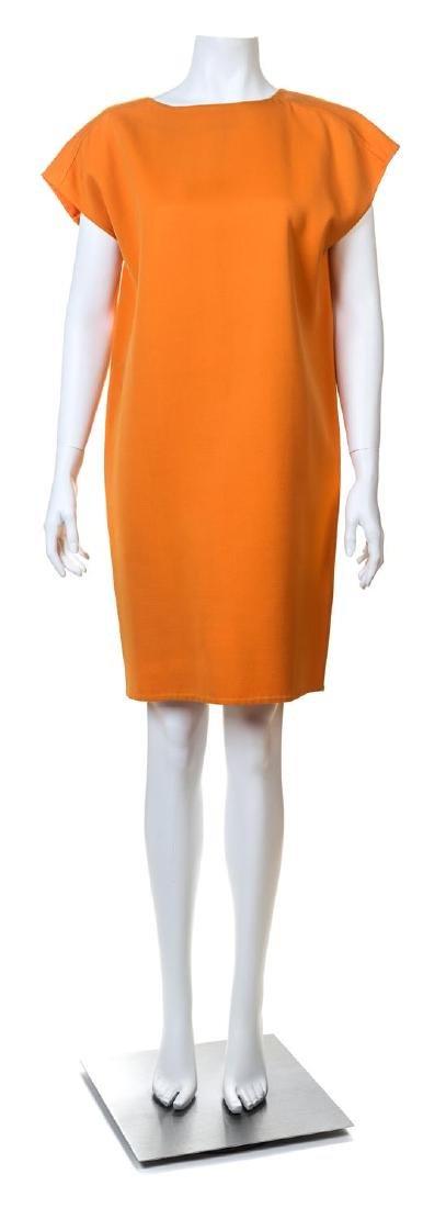 A Bill Blass Orange Wool Jumper,