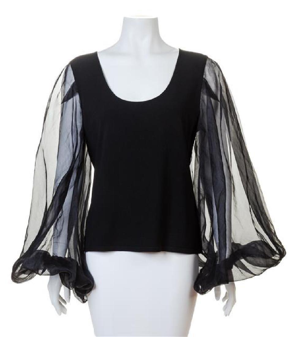 A Valentino Black Sweater,