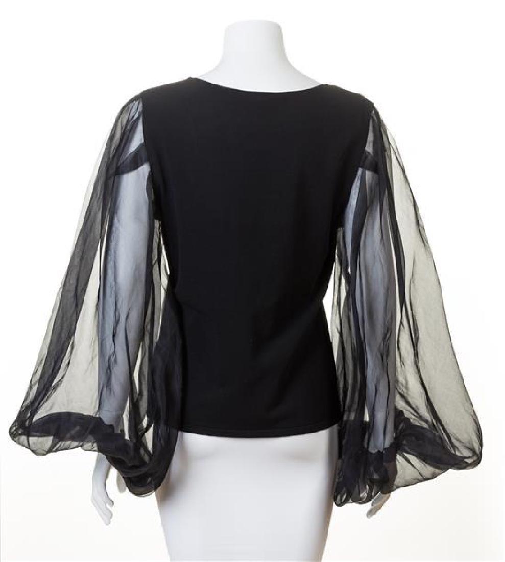 A Valentino Black Sweater, - 2