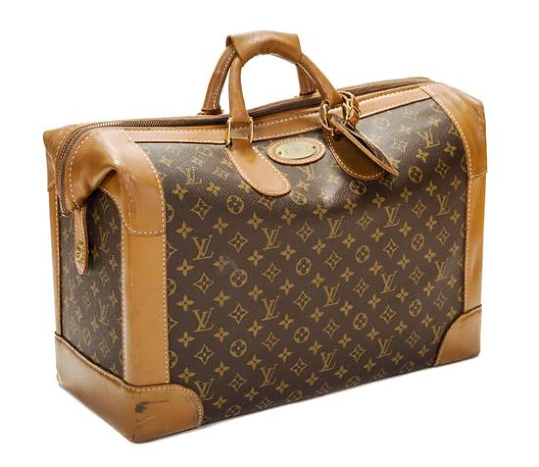 A Louis Vuitton Monogram Canvas Shoe Bag,