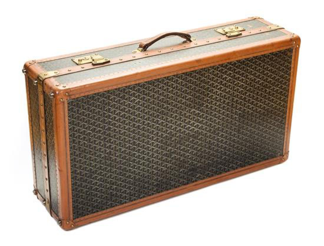 A Goyard Large Hardsided Suitcase,