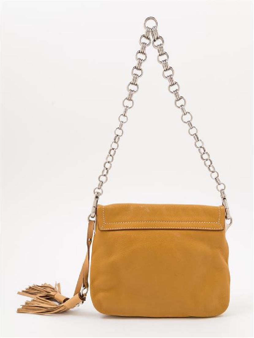 A Prada Camel Leather Handbag, - 2