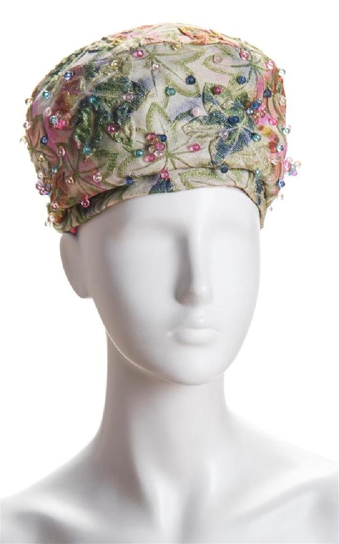 A Christian Dior 1960's Turban Hat,