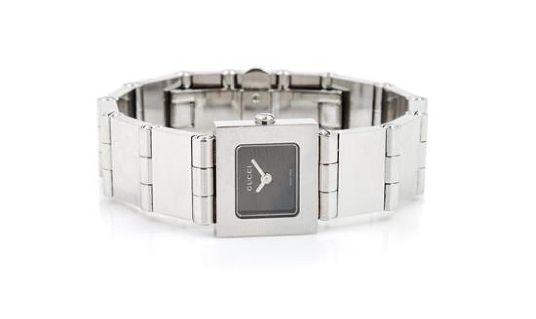 A Gucci Stainless Steel Watch,