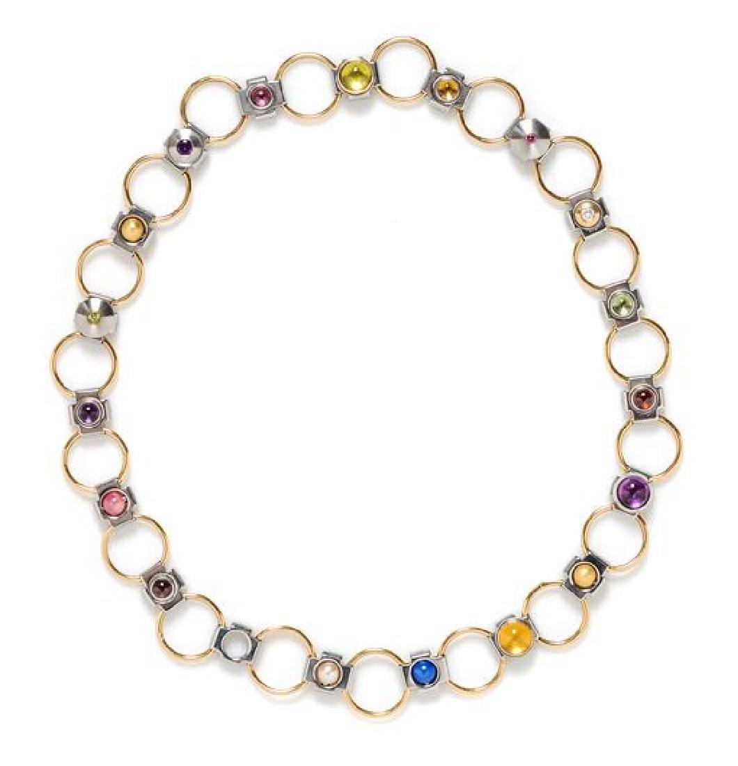 An Ehinger-Schwarz Link Necklace,