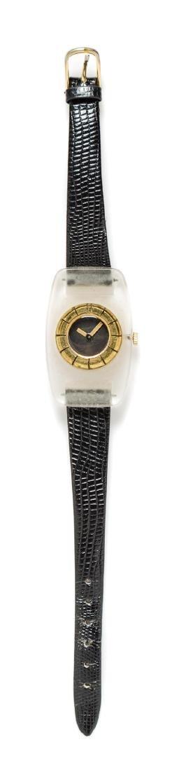 A Lanvin Lucite Watch,
