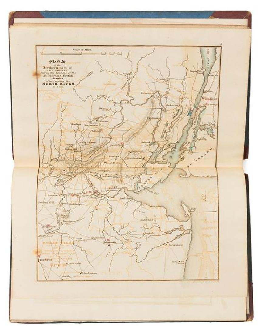 [ATLASES AND MAPS]. A group of 5 atlases and maps,