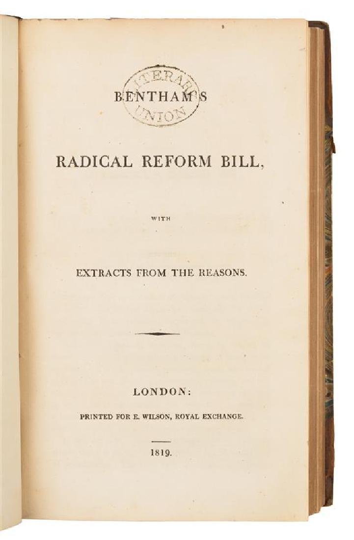 BENTHAM, Jeremy (1748-1832).