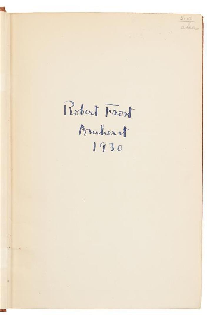 FROST, Robert (1874-1963).