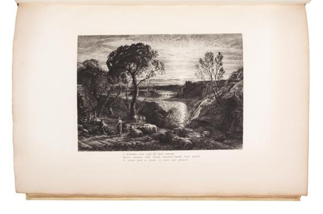 PALMER, Samuel (1805-1881). An English Version of the