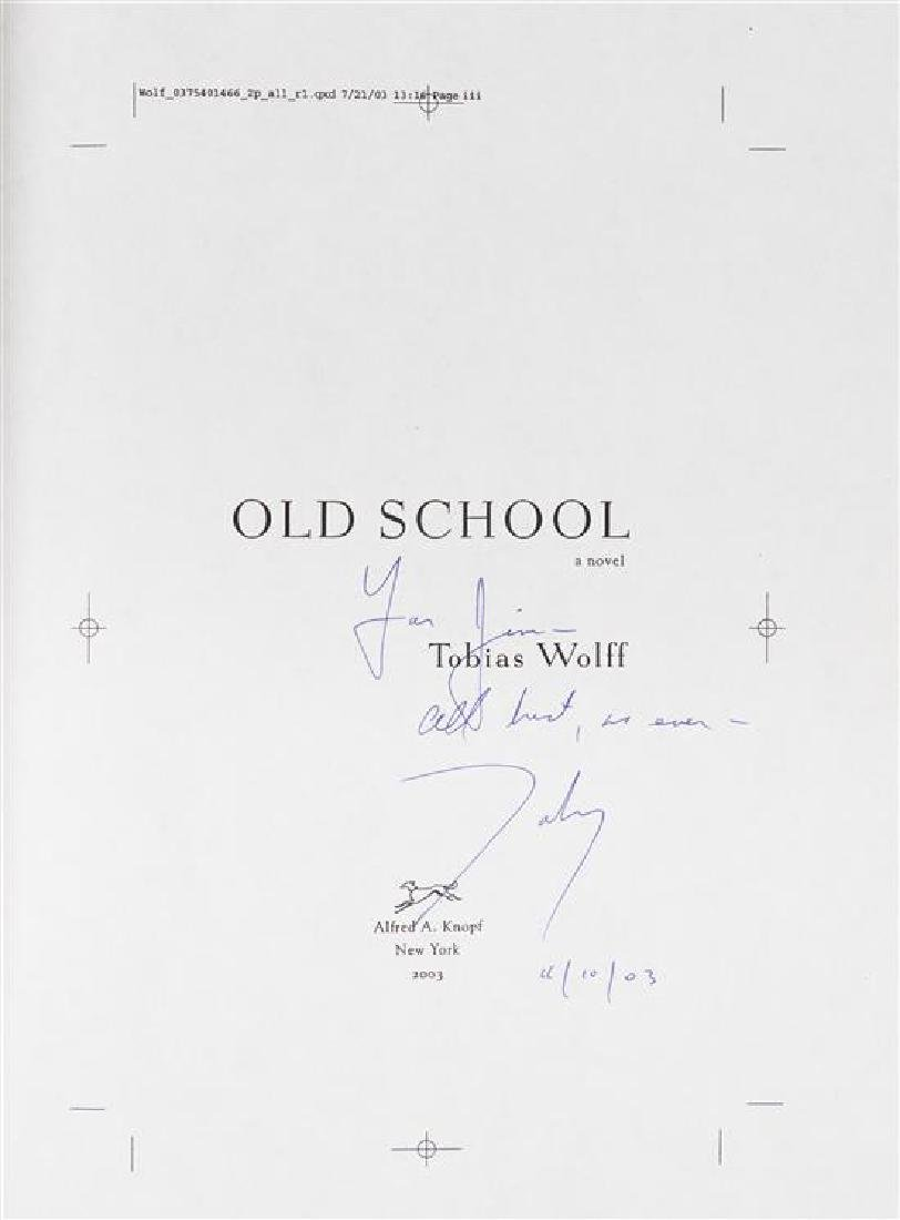 WOLFF, Tobias (b.1945).
