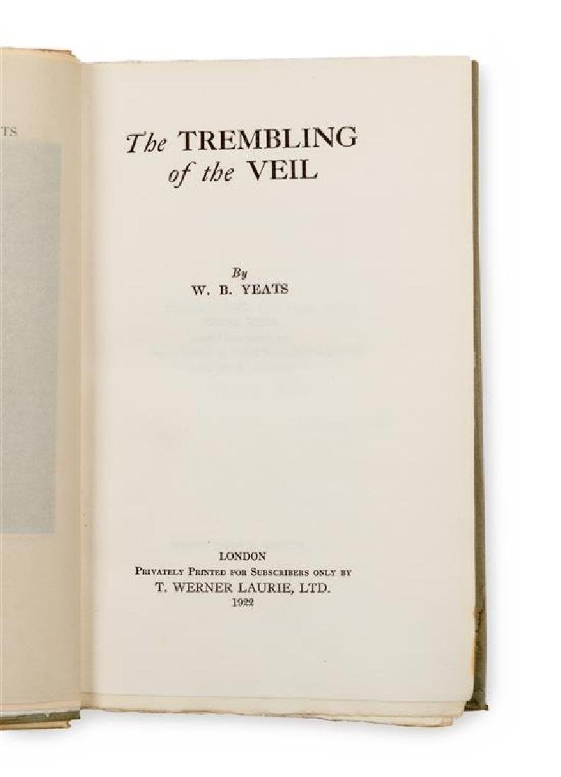 YEATS, William Butler (1865-1939).