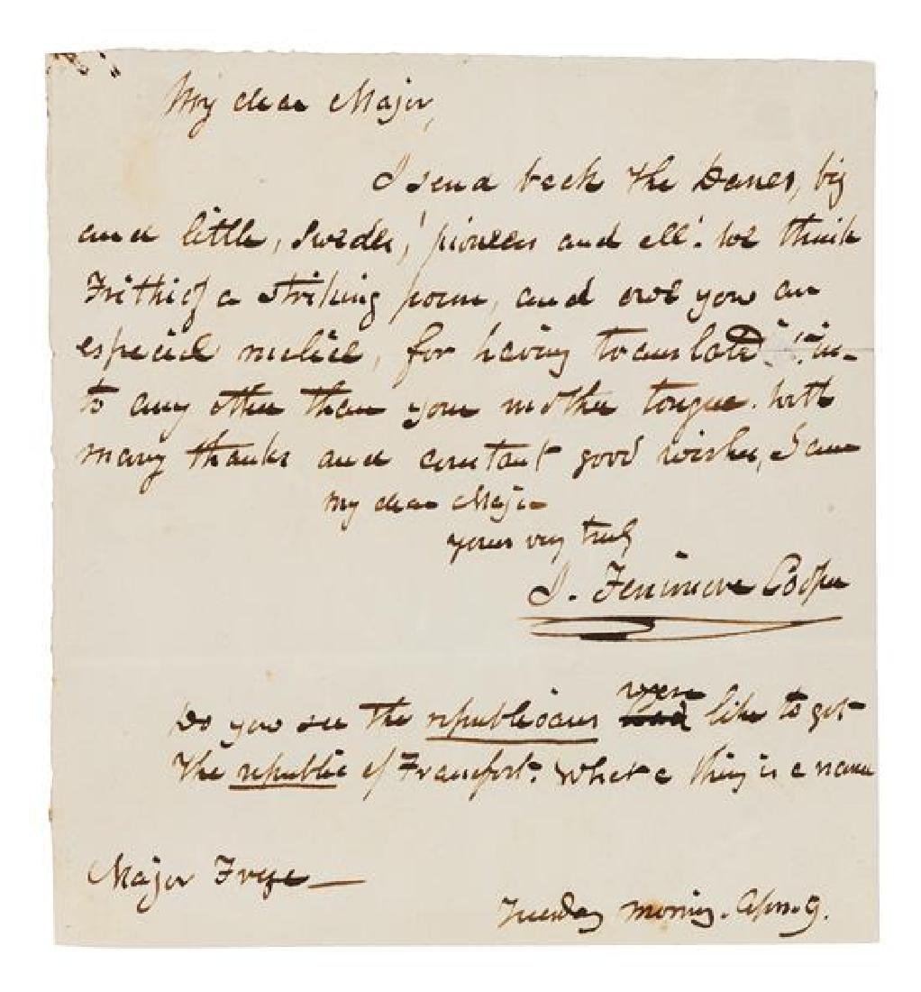 COOPER, James Fenimore (1789-1851).