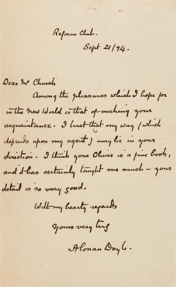 DOYLE, Arthur Conan (1859-1930).